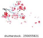 Cherry Blossoms Watercolor...