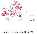 Cherry Blossoms Watercolor...