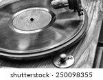 Close Up At Vintage Gramophon...