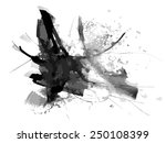 abstract ink paint vector... | Shutterstock .eps vector #250108399