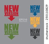 new version icon  tag  label ...