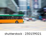 bus travel | Shutterstock . vector #250159021