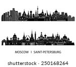 Moscow And Saint Petersburg...