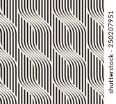 vector seamless pattern. modern ... | Shutterstock .eps vector #250207951