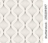 vector seamless pattern. modern ... | Shutterstock .eps vector #250209397