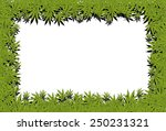 marijuana frame | Shutterstock . vector #250231321