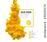 vector abstract cloud. ink... | Shutterstock .eps vector #250234174