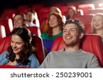 cinema  entertainment and... | Shutterstock . vector #250239001