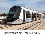 dubai  uae   dec 16  new tram...   Shutterstock . vector #250247389