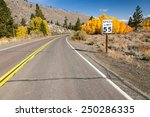 speed limit by the road with... | Shutterstock . vector #250286335