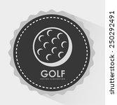 sport design over white... | Shutterstock .eps vector #250292491