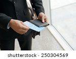 cropped image of businessman... | Shutterstock . vector #250304569