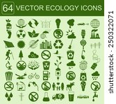 environment  ecology icon set.... | Shutterstock .eps vector #250322071