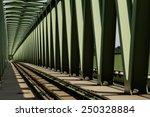 railway metal bridge... | Shutterstock . vector #250328884