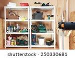 workshop tools | Shutterstock . vector #250330681