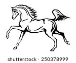 black and white vector outlines ...