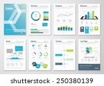 infographics flyer and brochure ... | Shutterstock .eps vector #250380139