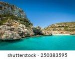 Ibiza Bay Cala Marmolis With...