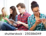 technology and internet concept ... | Shutterstock . vector #250386049