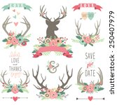 Wedding Floral Antlers Collections