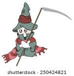 ghost cartoon   Shutterstock . vector #250424821