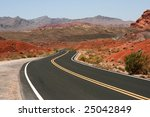 Road In Valley Of Fire State...
