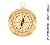 illustration of compass | Shutterstock .eps vector #250445539
