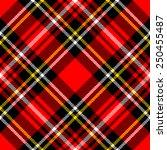 textured tartan plaid. seamless ... | Shutterstock .eps vector #250455487