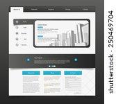 business website template eps 10