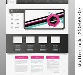 business website template eps 10
