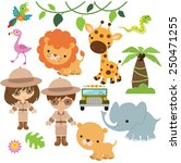 safari vector illustration | Shutterstock .eps vector #250471255