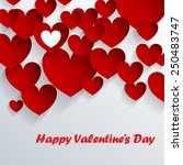 abstarct valentine background... | Shutterstock .eps vector #250483747