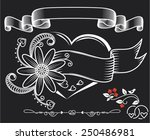 labels of st. valentine's day.... | Shutterstock .eps vector #250486981
