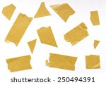 scotch tape | Shutterstock . vector #250494391