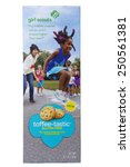 Small photo of ALAMEDA, CA - FEBRUARY 05, 2015: Illustrative Editorial of Girl Scout Cookies, Little Brownie Baker brand Toffee-Tastic Gluten Free Cookies. One 6.7 ounce box.