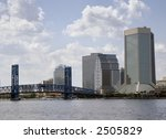 city scape of jacksonville ... | Shutterstock . vector #2505829