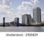 city scape of jacksonville ... | Shutterstock . vector #2505829