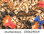 javanese batik seamless pattern | Shutterstock . vector #250629019