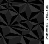polygonal seamless pattern.... | Shutterstock .eps vector #250635181