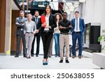 young multi ethnic business... | Shutterstock . vector #250638055