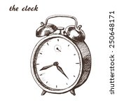 The Sketch Of Clock