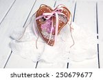 gingerbread cookies for the... | Shutterstock . vector #250679677
