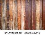 old wood wall texture.... | Shutterstock . vector #250683241
