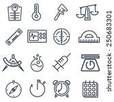 Measurement Tools Icon Pack