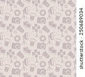 Seamless Pattern With Photo...