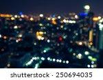 abstract urban night light... | Shutterstock . vector #250694035