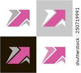 arrows  icon  vector 13. the...   Shutterstock .eps vector #250719991