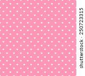 happy valentine pink background | Shutterstock .eps vector #250723315