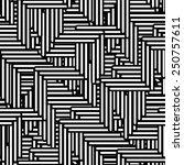 seamless geometric pattern.... | Shutterstock .eps vector #250757611
