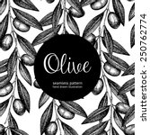 seamless vector pattern with... | Shutterstock .eps vector #250762774